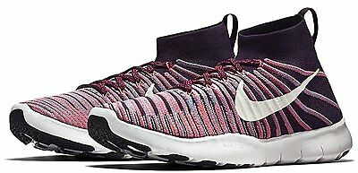 c84bae2f281a NIKE MEN S FREE Train Force Flyknit Running Training Shoes Grand  Purple White