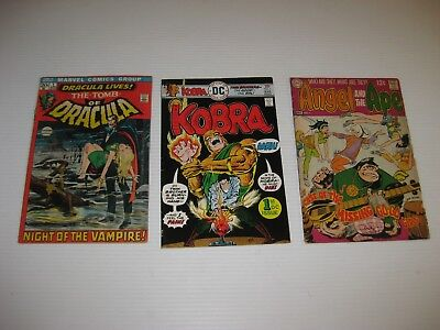 Huge Lot Of Silver And Bronze Age Comic Books All Issue # 1  84 Total