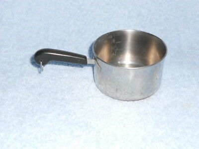 Revere Ware Copper Clad stainless 1 Cup measuring cup/pot/pan butter warmer