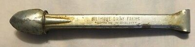 """BILTMORE DAIRY FARMS Tongs """"SUPREME IN QUALITY""""  RARE """"NO RESERVE"""""""