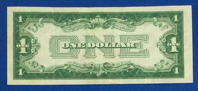 "1928A $1 Blue ""FUNNY BACK"" SILVER Certificate Choice VF X664 Old Currency"