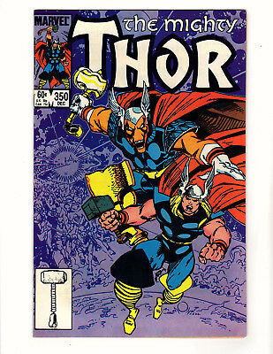 The Mighty Thor #350 (1984, Marvel) NM- Walt Simonson Story & Art Beta Ray Bill