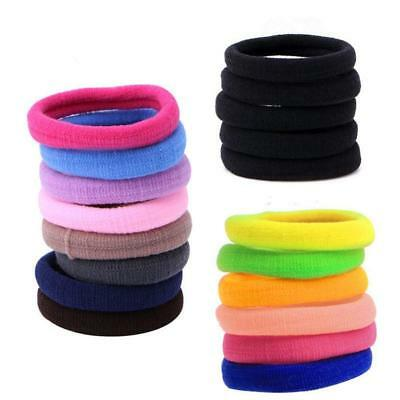 50 Pcs Kids Girl Lady Elastic Rubber Hair Bands Ponytail Holder  Rope Ties  GL