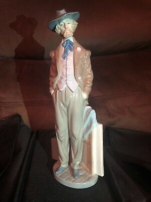 The Traveling Artist - Large Retired Figurine by Lladro #5661 no box