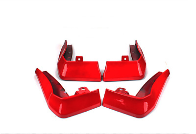 Red Front Splash Guards Mud Flaps Fenders For Honda Sedan CIVIC 2016-2017 2018
