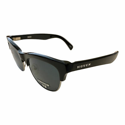 fb03d5a925 NEW Hoven Vision Eddy Sunglasses - Black Gloss Frame - POLARIZED Grey Lens
