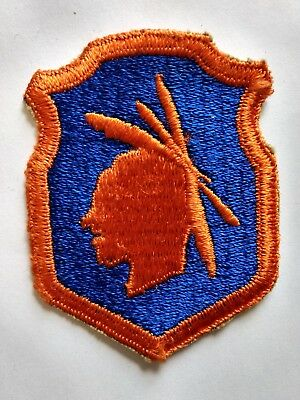 Patch: WWII US Military 98th Division Army Reserve Command Indian Head