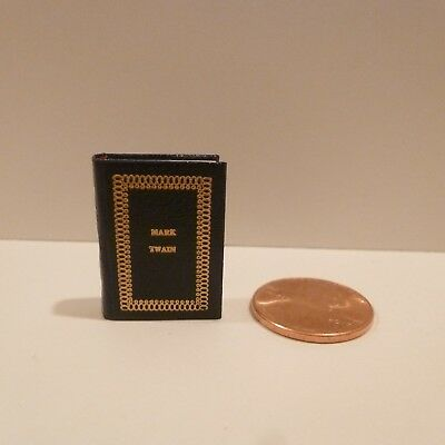 Barbara Raheb   Exquisite Miniature Book      Titled Mark Twain      #168/300