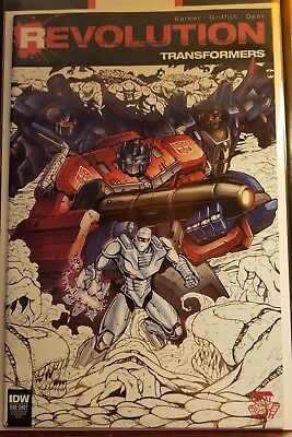 Revolution Transformers 1 Local Comic Shop Day Variant Idw Nm
