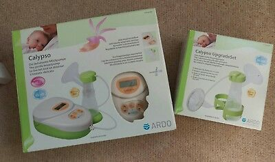 calypso double breast pump with upgrade kit