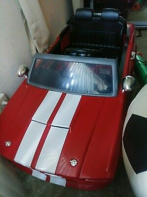 New just assembled toddler child kid electric 1967 Shelby GT500 12V Ride-Ons car