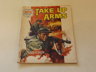 BATTLE PICTURE LIBRARY NO 338,dated 1968!,V GOOD FOR AGE,VERY RARE,50 yrs old.