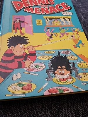 Dennis the menace Annual 1978 X Very Good Condition X 507 X