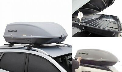 Cargo Box For Suv >> Rooftop Thule Roof Cargo Box Case Suv Car Storage Organizer