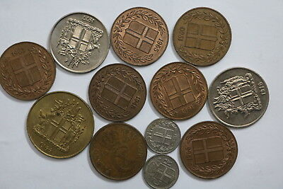 Iceland Many High Grade Coins Lot All Different A88 Rza5