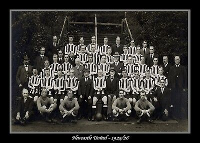 Retro/Photo/Photograph/Newcastle United 1925/26 Team Print
