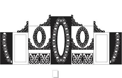 WEDDING DESIGN COLLECTION CDR FILE Cnc Vector  For Cnc Router  laser cut