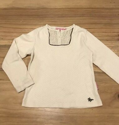 RM Williams Size Girls Fillies Top Blouse Long Sleeve Horse R.M RMWcotton