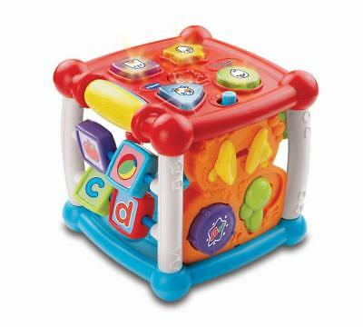 New Vtech Baby Infant Toy Play Turn Learn Cube Develop Fine Motor Skills AU