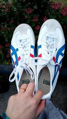Onitsuka Tiger shoes white blue red eu 40 us 7 - super comfortable & almost new!