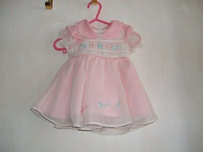 Baby beautiful dress made by Peach 0-3mths