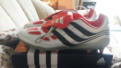 d3a27a719bed ... discount code for adidas predator precision fg football boots remake db  silver and red uk10 bnwb