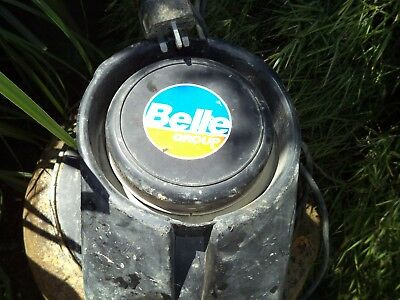 Belle Cement Mixer Master Mix H130 230 Volts With Stand Fair/good Order Working