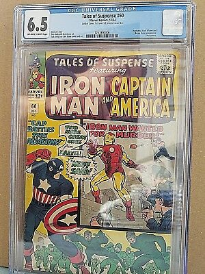 Tales of Suspense 60  CGC 6.5 DOUBLE COVER