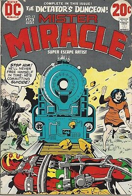 Mister Miracle #13. Mar-Apr 1973. DC. GD.