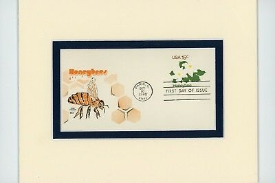Honoring The Honey Bee & the Art of Beekeeping and First Day Cover of its  Stamp