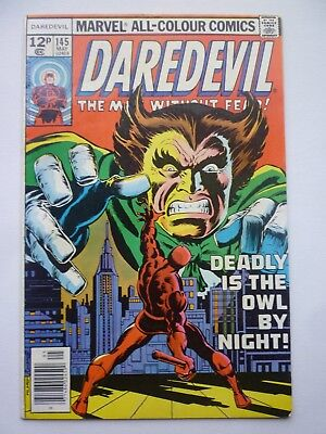 Daredevil 145 1977 Marvel Comics