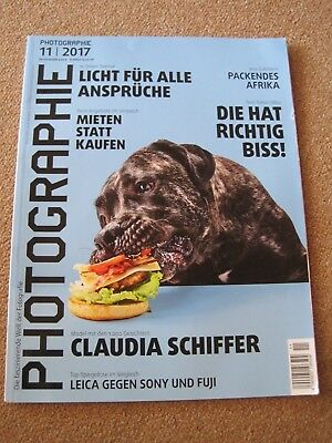 Photographie 11/2017 - Claudia Schiffer, Leica gegen Sony, Packendes Afrika...