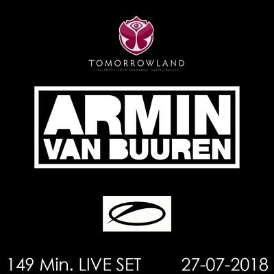 Armin van Buuren - Live @ Tomorrowland 2018 - 27-07-2018    Auf 2 AUDIO CD's