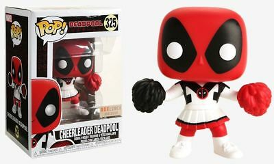 Funko Pop Deadpool: Cheerleader Deadpool #325. Boxlunch Exclusive