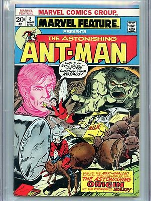 Marvel Feature 8 CGC 9.6 Don Rosa Collection Ant-Man