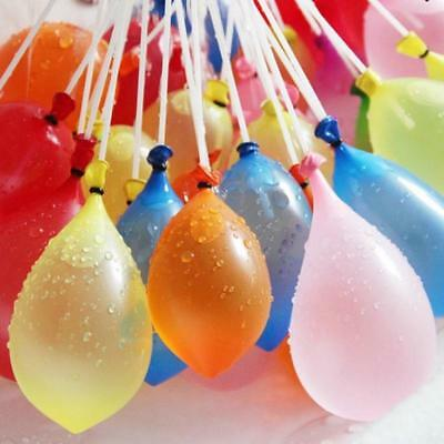 120pcs Colorful Balloon & Rubbers Refill Package For Water Balloons Bombs Beach