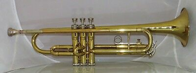 King Tempo 600 U.S.A. Vintage Trumpet w/ Hardcase King Nice Horn Mouth Piece