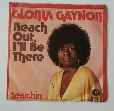 Gloria Gaynor - Reach out, I'll be There, Searchin , Single Schallplatte