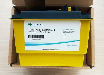 ITM02 Ax Series ITM Type 2 industrial black ink cartridge by DOMINO