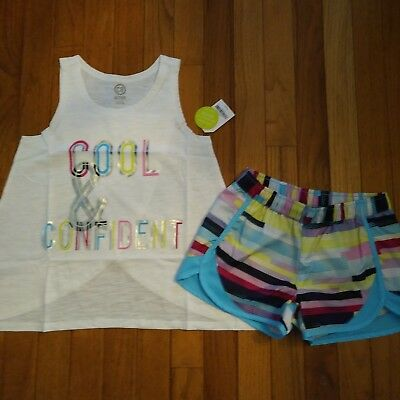 NWT Gymboree Crazy 8 Active Wear Top/Shorts Size 5 6 7 8 10 12 14 16  Girls