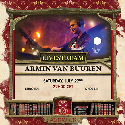 Armin van Buuren - Live @ Tomorrowland 2017 - 22-07-2017    AUDIO CD