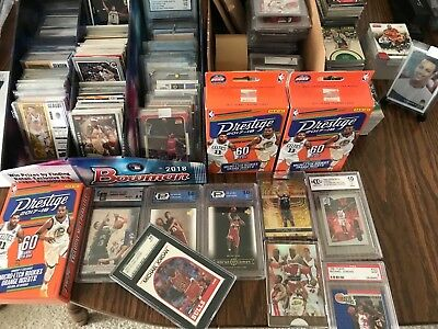 ***40 Card Lot Old Unopened Basketball Cards in Packs W/Auto or Jersey PLS READ