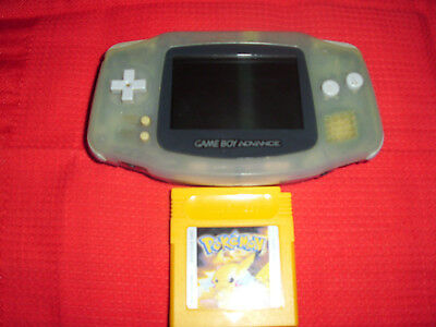 Nintendo Game Boy Advance grau Handheld-Spielkonsole