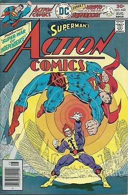 Action Comics #462. Aug 1976. DC. FN.
