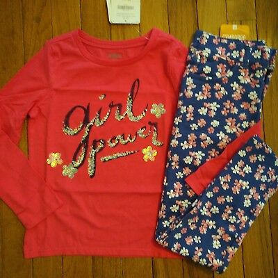 NWT Gymboree Girls Spring Forward Sequin Top/Ponte Pants Size 6 8 10 12 14 Outfi