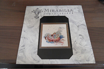 The Baby Boat MD16 Mirabiliia Cross Stitch Chart Only