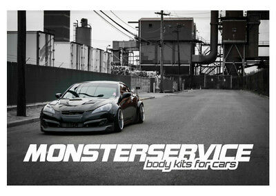 """Bodykit """"Monsterservice"""" V2 for Hyundai Genesis Coupe 2009-2015"""
