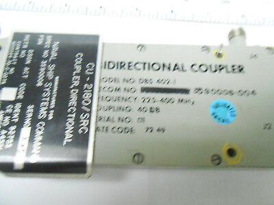 Dbs-402-1 Directional Coupler Used On Cu-2180/src 200-400 Mhz Used