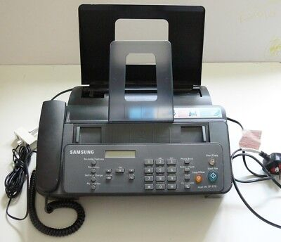 Samsung SF370 Injet Telephone Fax Machine Used But In Very Good Condition