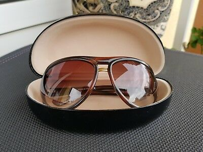 1b4c2adc2f3aa Tom Ford TF 72 Sonnenbrille Brille Cameron Damen sunglasses braun Italy NP  250